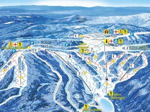 Rogla 14 (Slovenija) - zimovanje, skijanje, zima 2013-2014